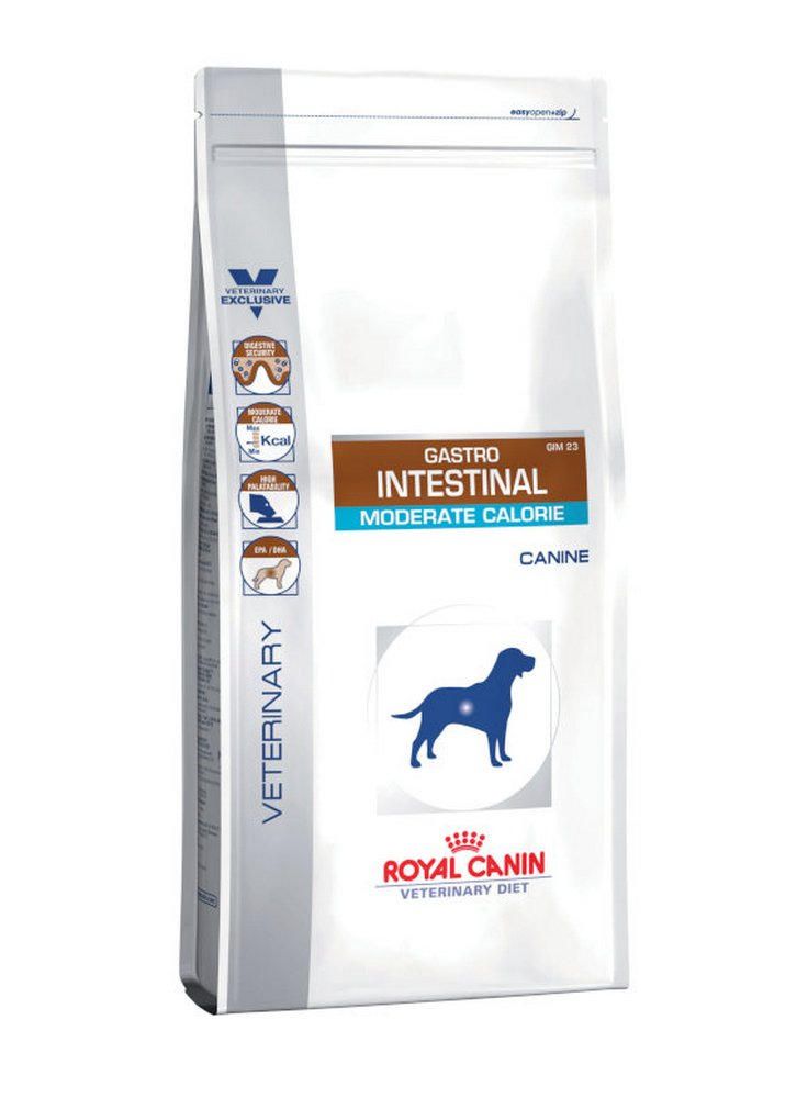 Gastro Intestinal Moderate Calorie cane Royal Canin