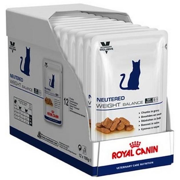 Neutered Weight Balance buste umido gatto Royal Canin 12x100g