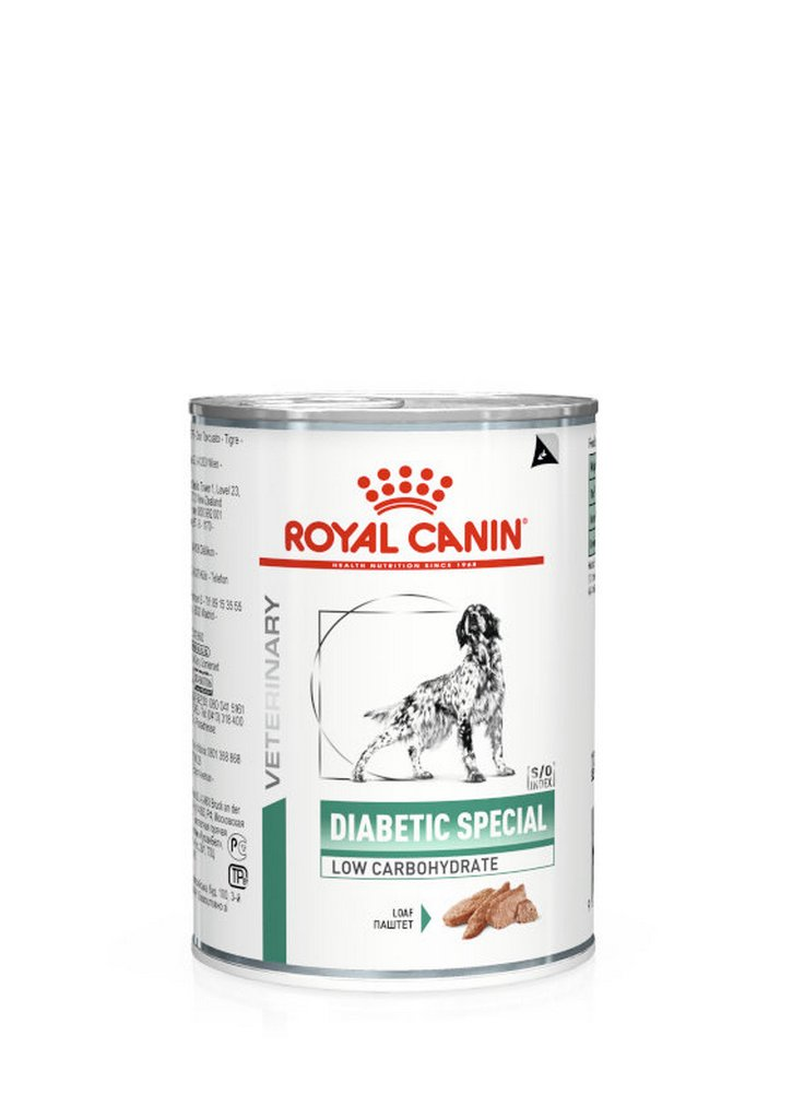 Diabetic Special Low Carbohydrate Umido cane Royal Canin