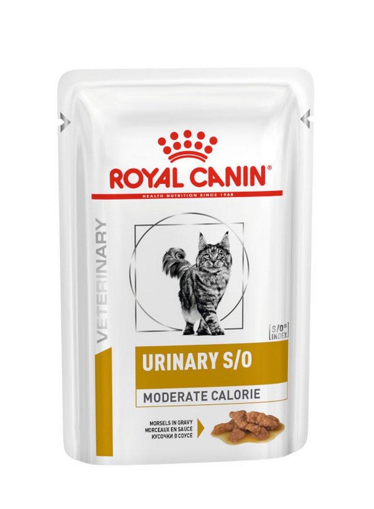 Urinary s/o Moderate calorie buste umido gatto Royal Canin 12x85gr
