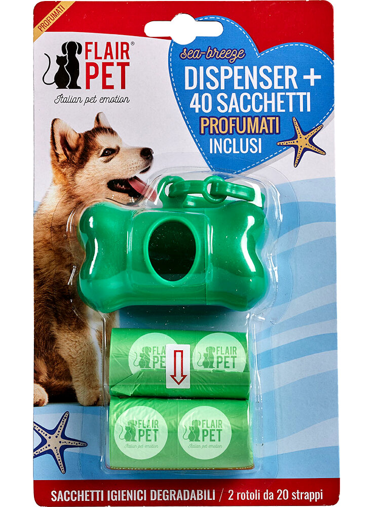flair Pet Dispenser sacchetti igienici profumati