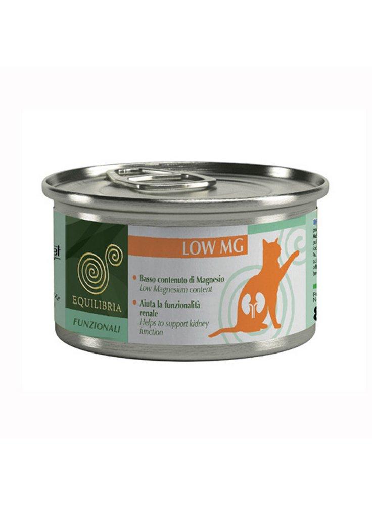 Cibo per gatti EQUILIBRIA Funzionali Low MG 85 gr