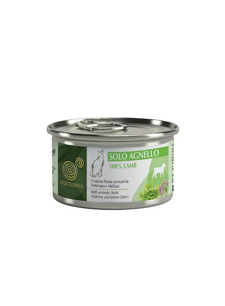 Cibo per gatti EQUILIBRIA SOLO Monoproteico 85 gr