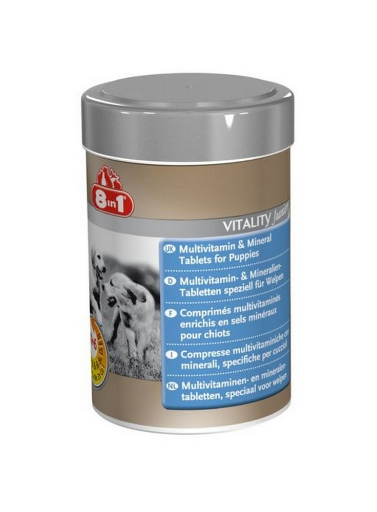 Integratore Multivitaminico per Cuccioli (65tav - 185ml) 8in1