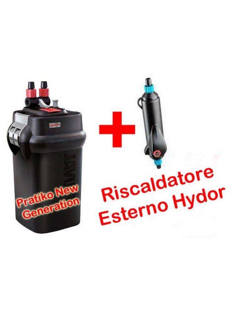 Filtro esterno pratiko 200 eth 200 askoll for Acquario con filtro esterno
