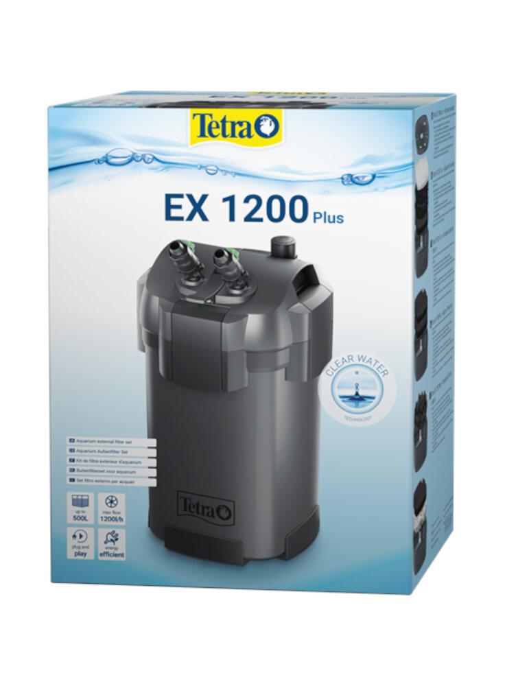 Filtro esterno tetra ex 1200 plus per acquari fino a 500lt
