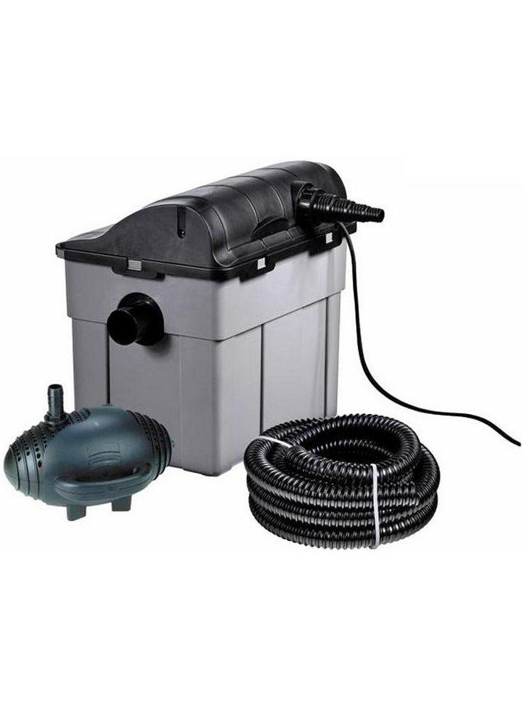Heissner kit filtro laghetto 7000 completo con pompa e uvc for Stagno artificiale per tartarughe