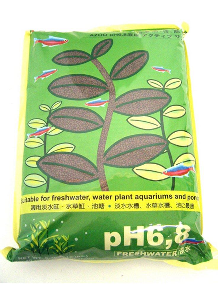 Fondo acquario acqua dolce e laghetto Azoo pH 6.8 - kg 5.4