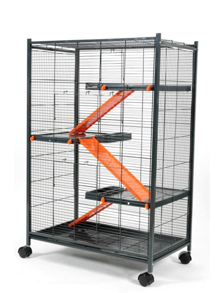 Zolux gabbia per furetti e cincillà indoor max loft 1
