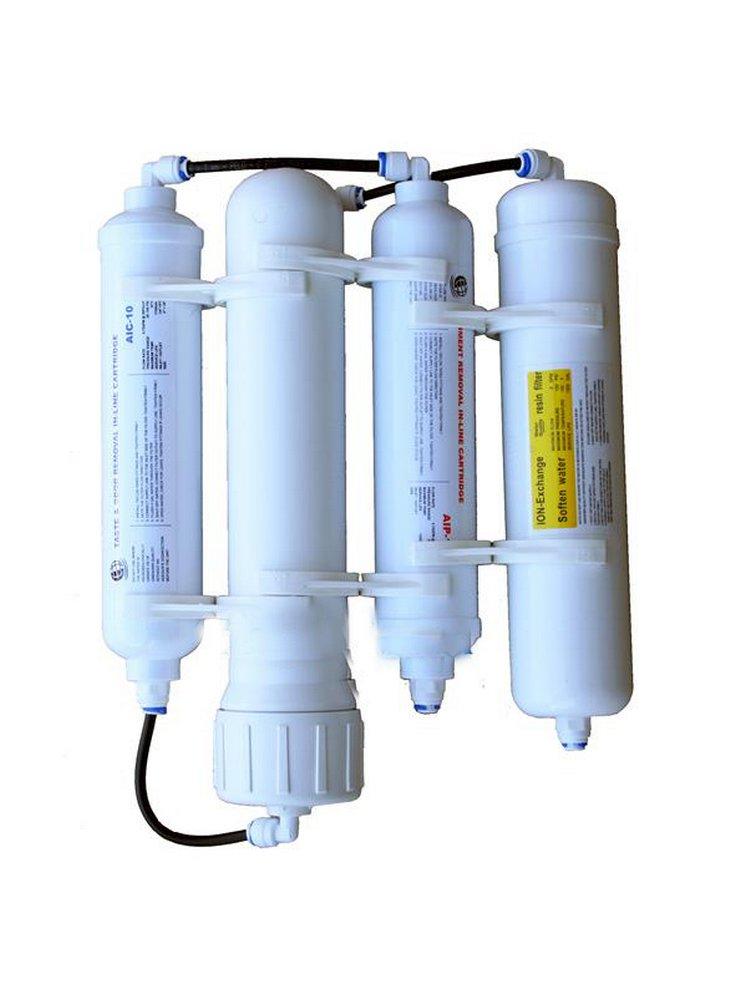 Impianto osmosi inversa per acquario a 4 elementi hqa