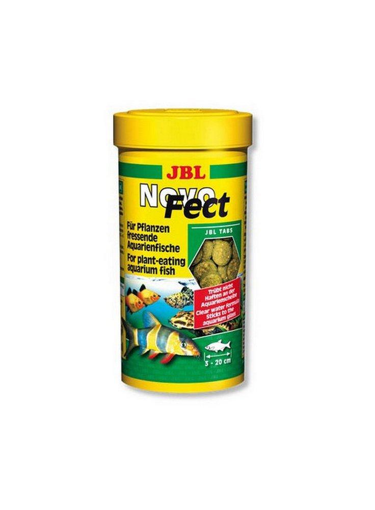 Jbll Novo FECT mangime vegetale per pesci d'acqua dolce in compresse