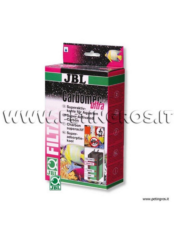 JBL Carbomec Ultra Granuli 800 ml - carbone iperattivo per acquari dolci o salati