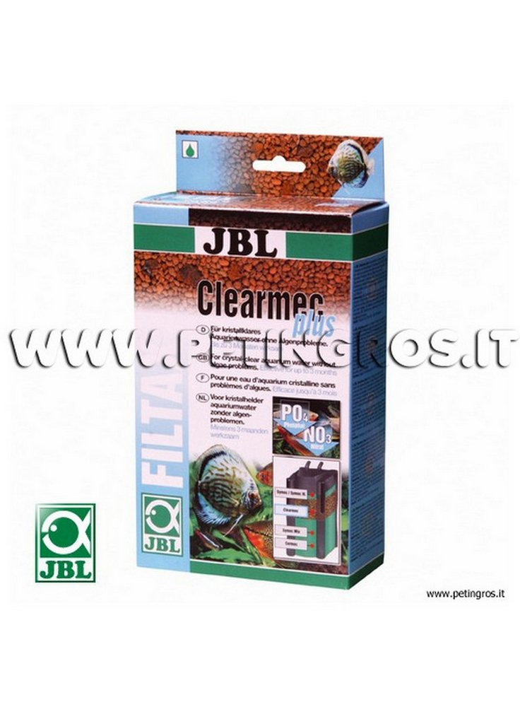 JBL ClearMec plus 2x300 ml -Resine anti nitriti, nitrati e fosfati in acquario