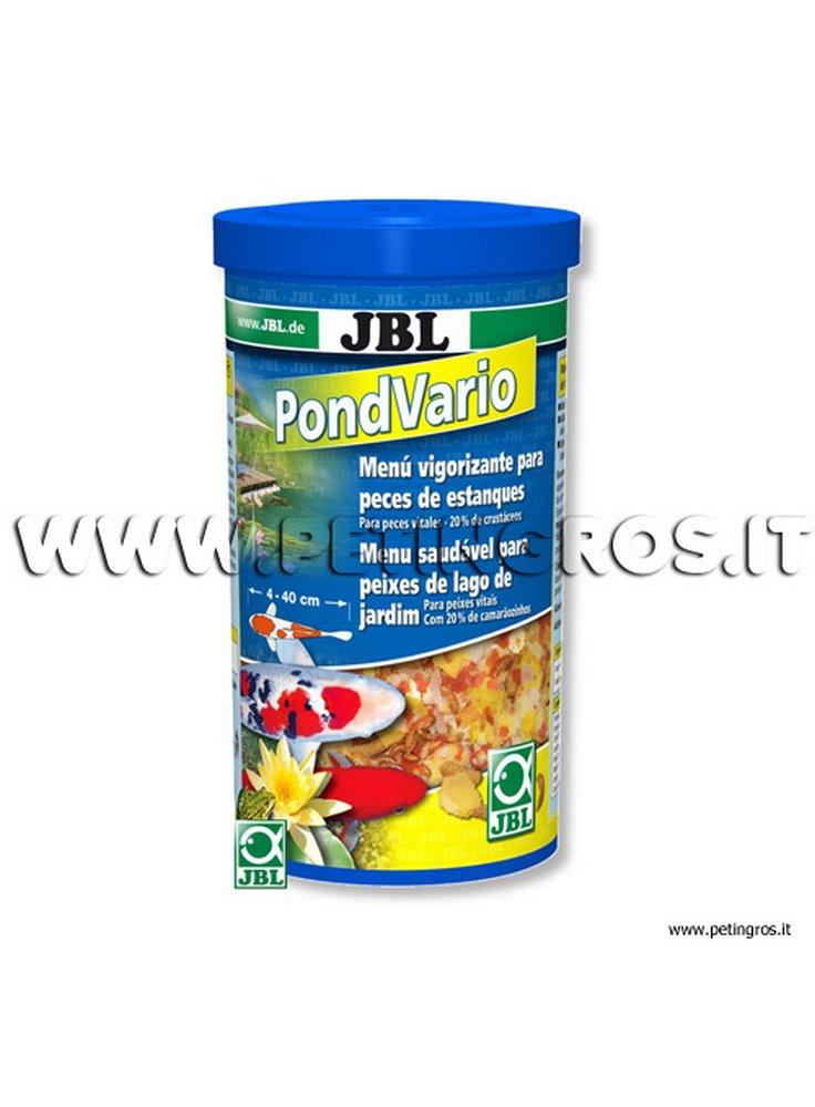 Jbl pond vario mangime misto per peschi da laghetto for Pellet per tartarughe