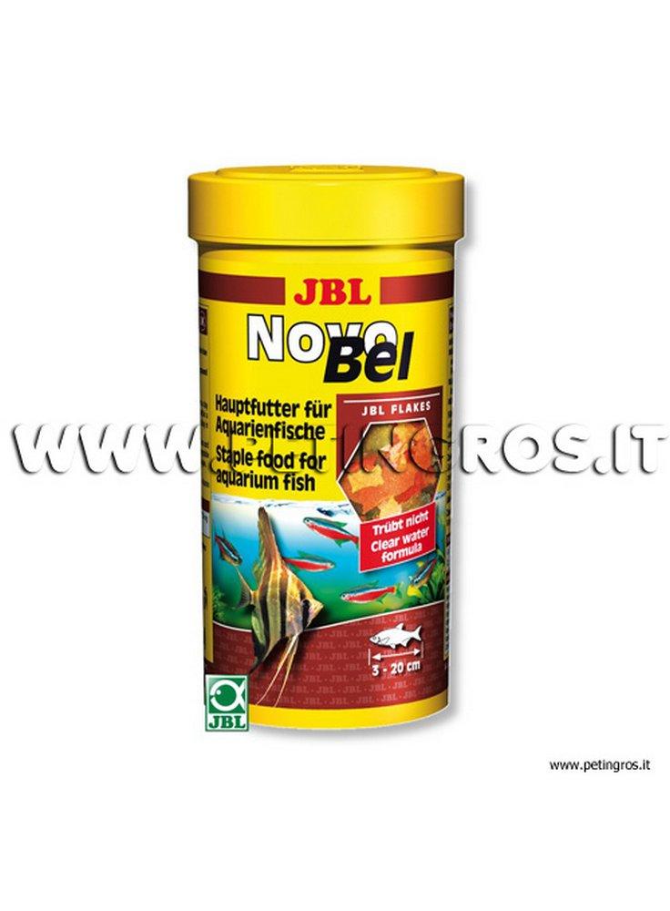 Novobel alimento di base per pesci in scaglie jbl for Pesci acqua dolce