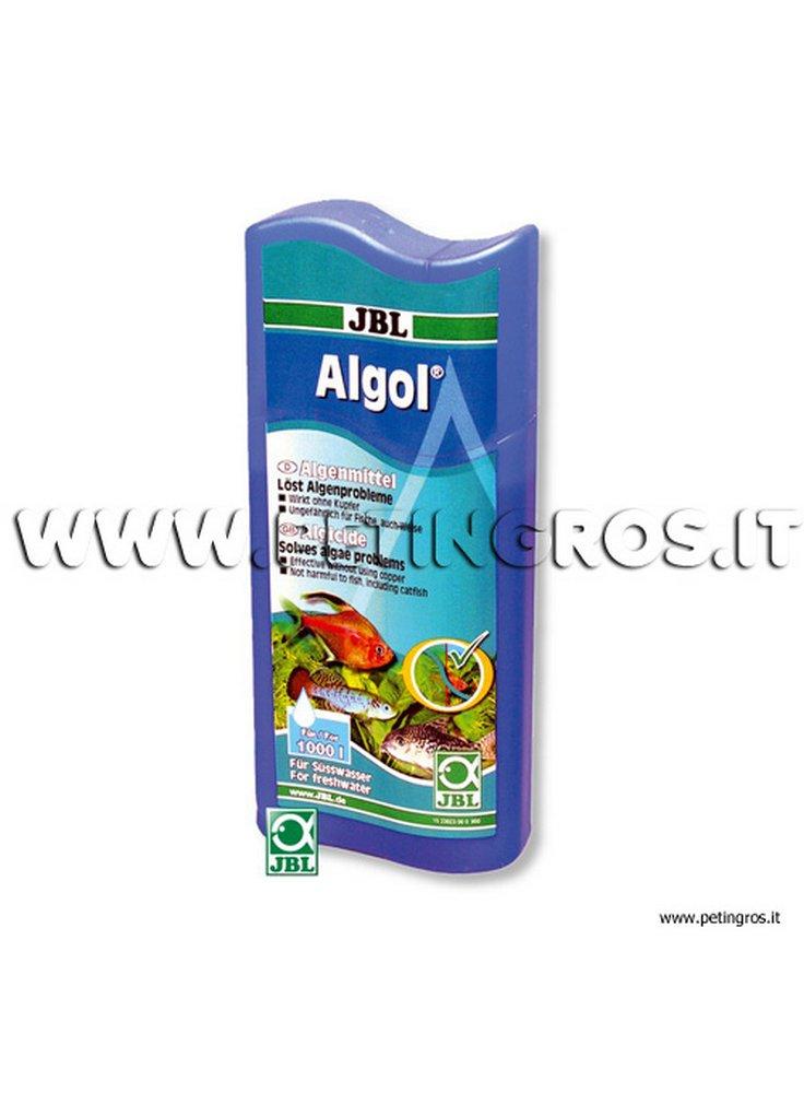 Algol 100 ml 400 l antialghe 4014162014061 for Antialghe per acquario
