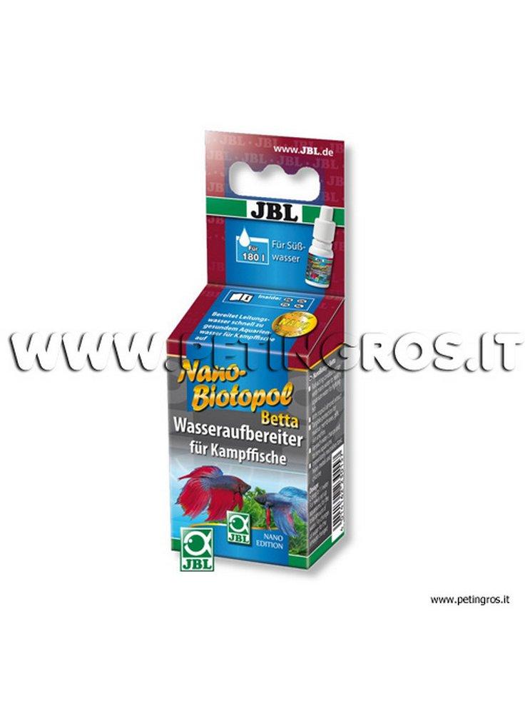 JBL Nano Biotopol Betta 15 ml -180 l - (Biocondizionatore Betta)