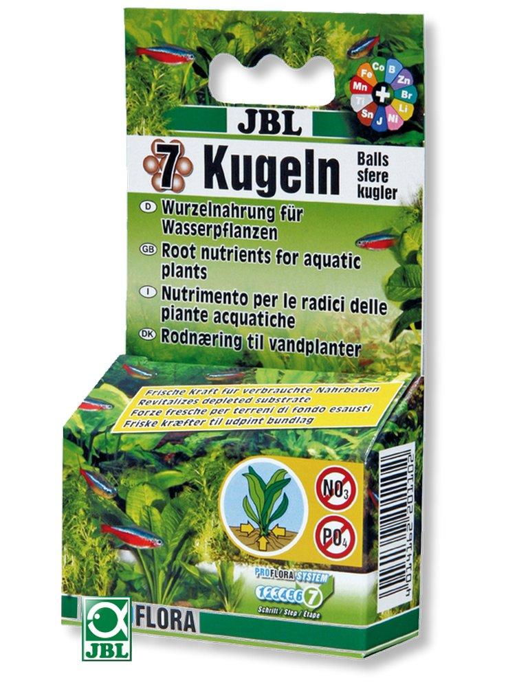 JBL Le 7 sfere - Fertilizzante radicale per acquario da 70g