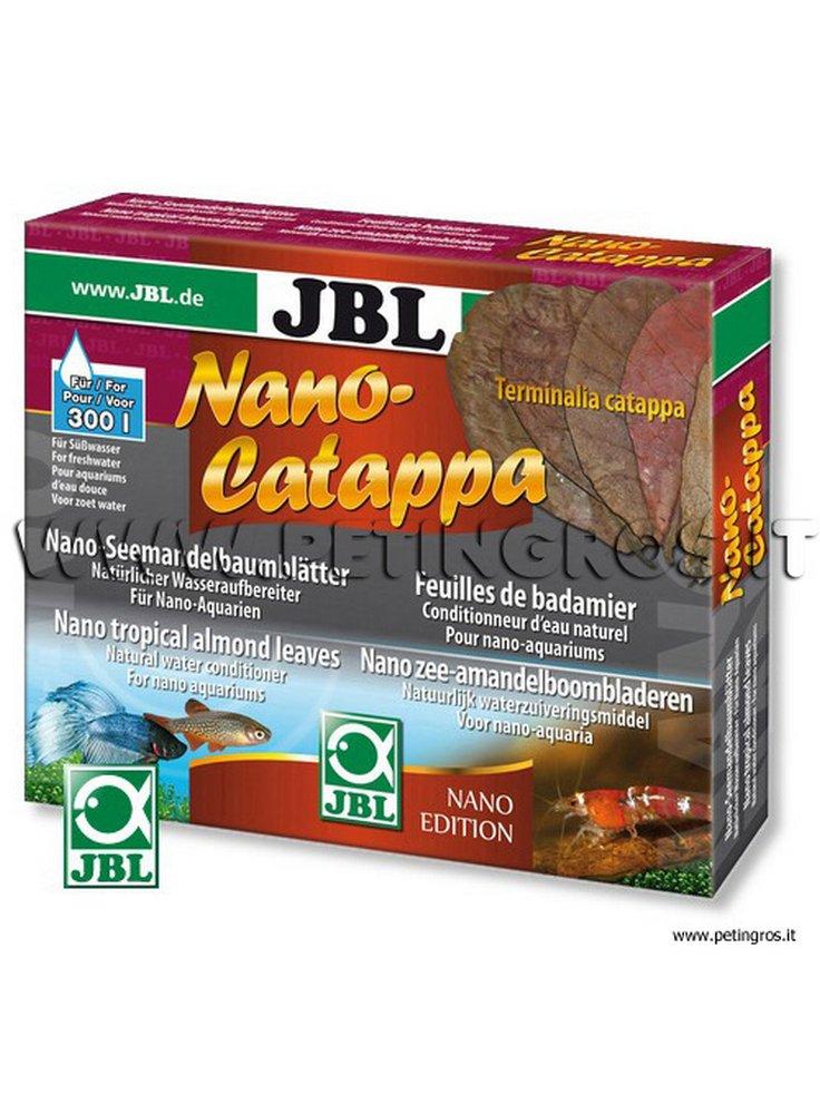 JBL Nano Catappa - Foglie di mandorlo tropicale 10 pz x trattare 300 litri