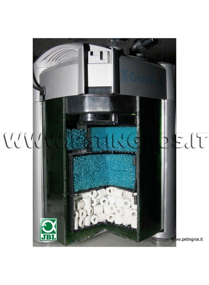Filtro esterno per acquario cristalprofi jbl for Acquario con filtro esterno