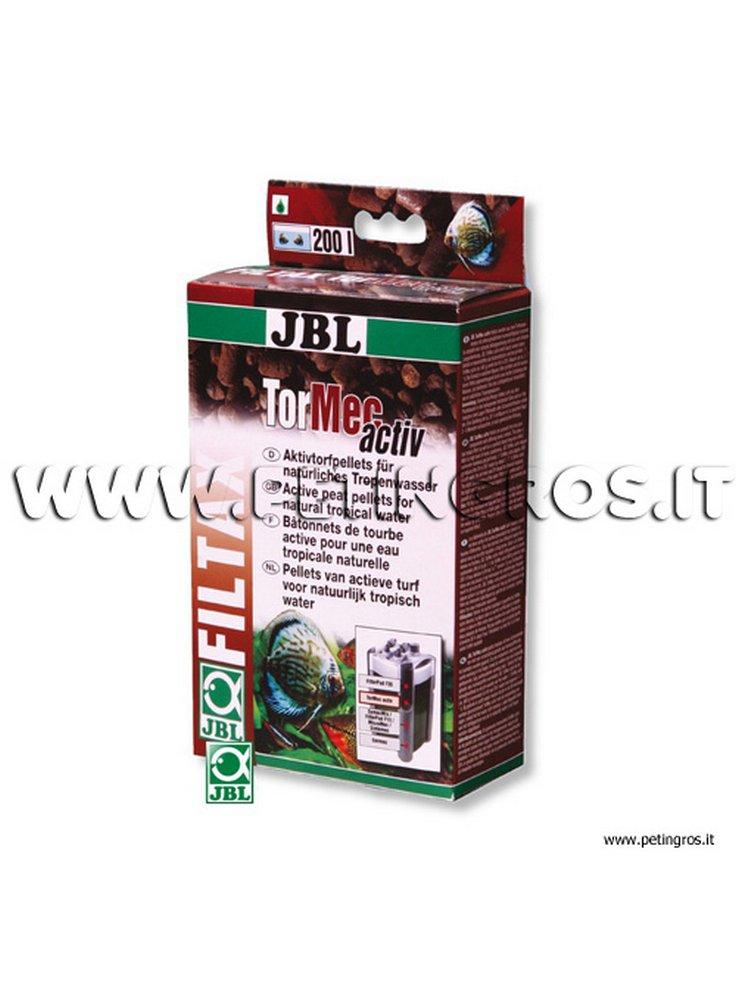 JBL Tormec activ - Torba in pellet per filtrazione in acquario confezione da 500 gr