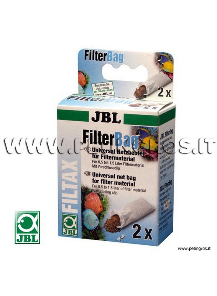 JBL FilterBag sacchetti in retina per materiali da filtrazione 2 pz x 1,5 litri