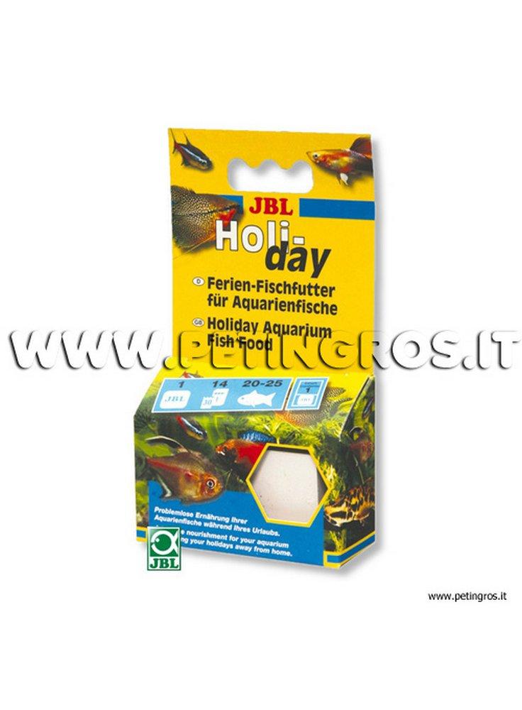 JBL HOLIDAY cibo a lento rilascio, 1 cubo da 33 grammi