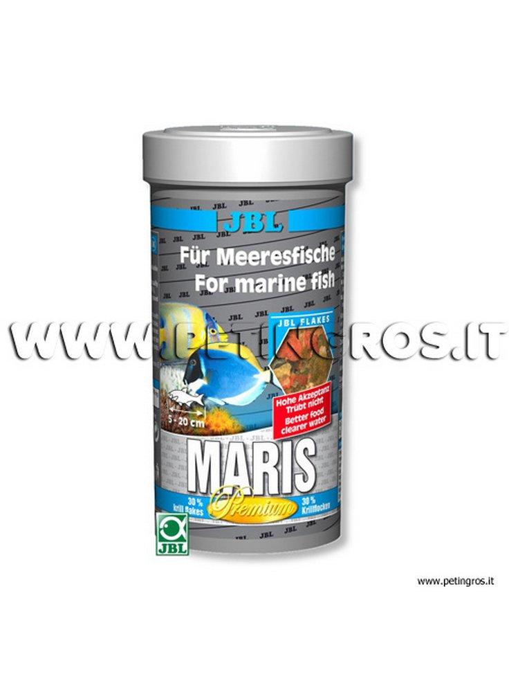 JBL MARIS – Mangime in fiocchi per pesci marini 250 ml/35 g