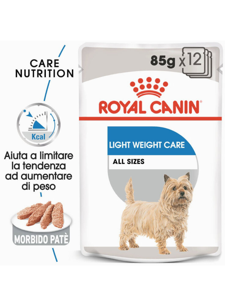 Light Weight Care cane Royal Canin 12X85 gr