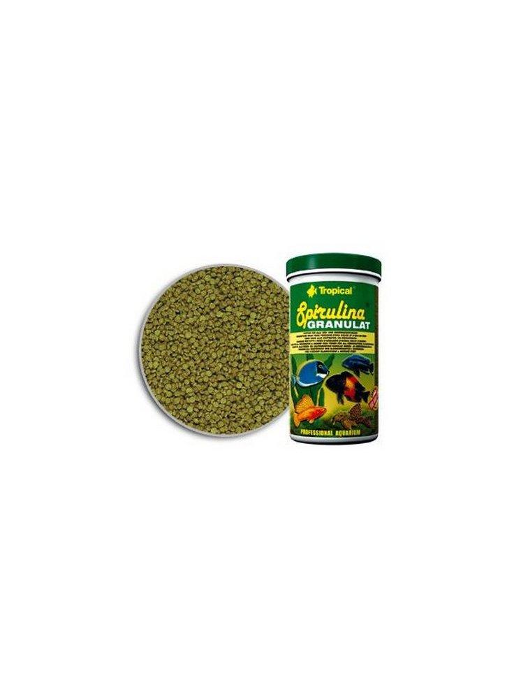 Spirulina granulat mangime per pesci ornamentali 150 ml