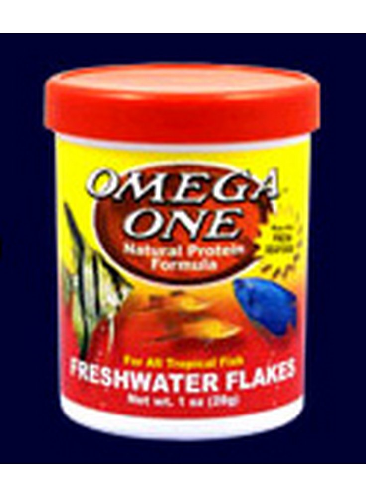 Omega one Freshwater flakes 300ml