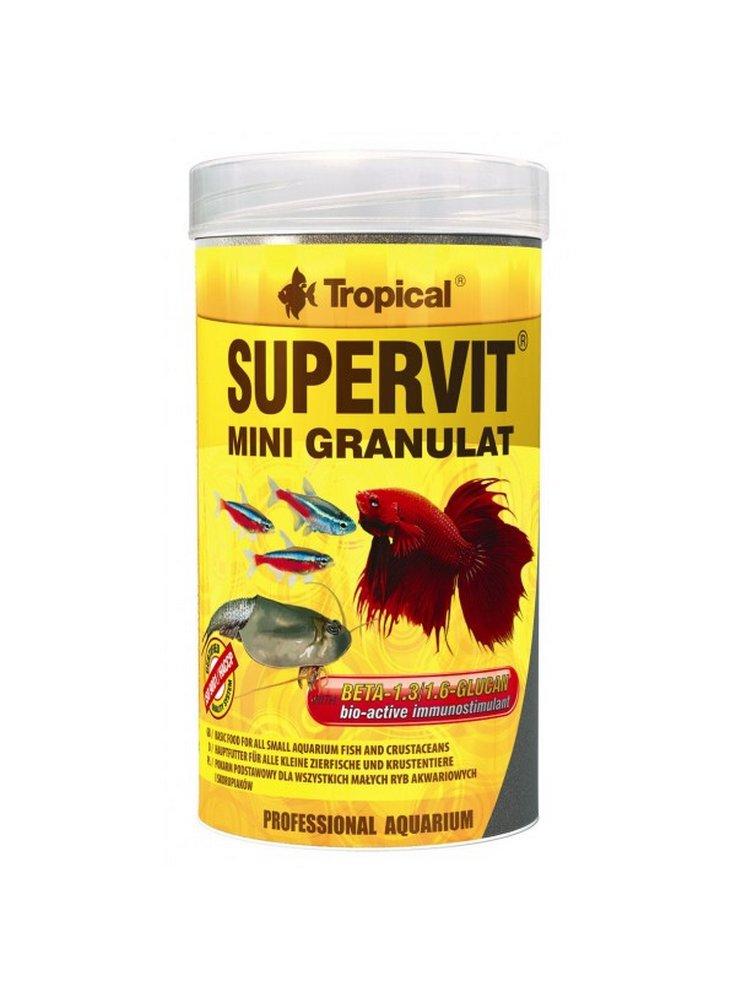 Supervit mini granular alimento per pesci ornamentali 100 ml