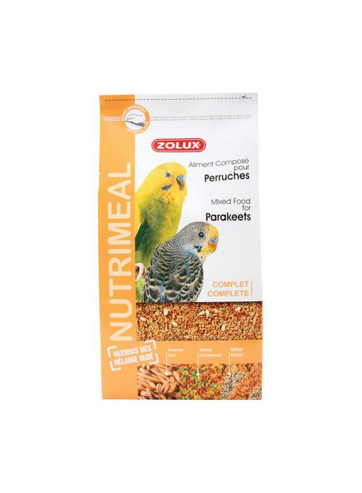 Mangime per pappagallini ondulati e cocorite 800 e 2,5kg