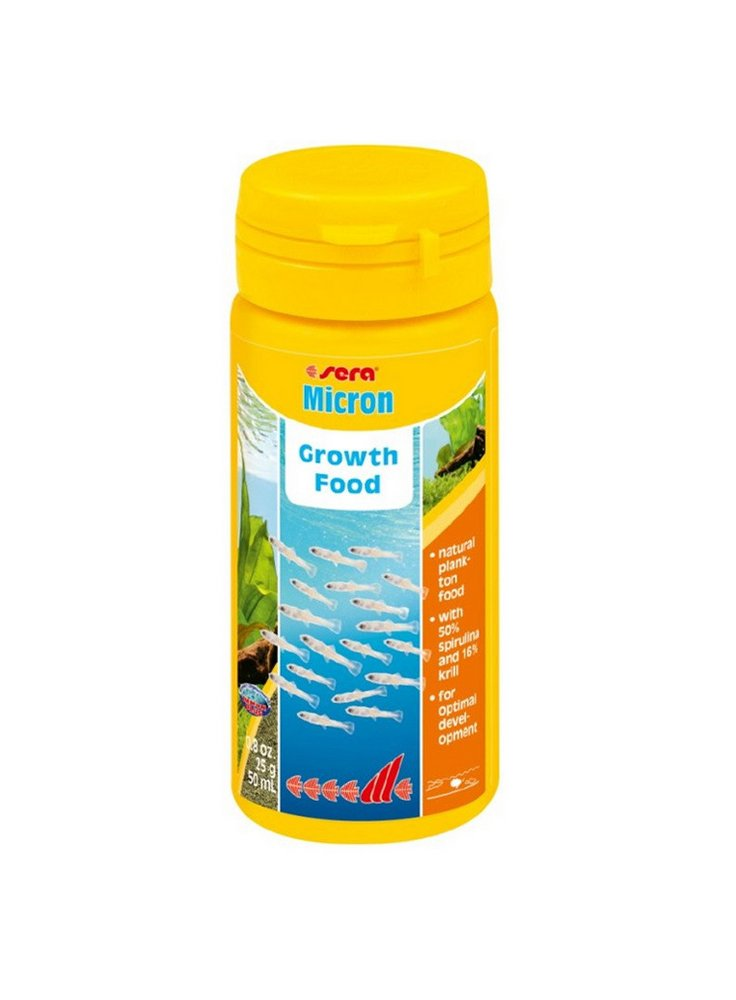 Sera micron 50ml plankton mangime per avanotti