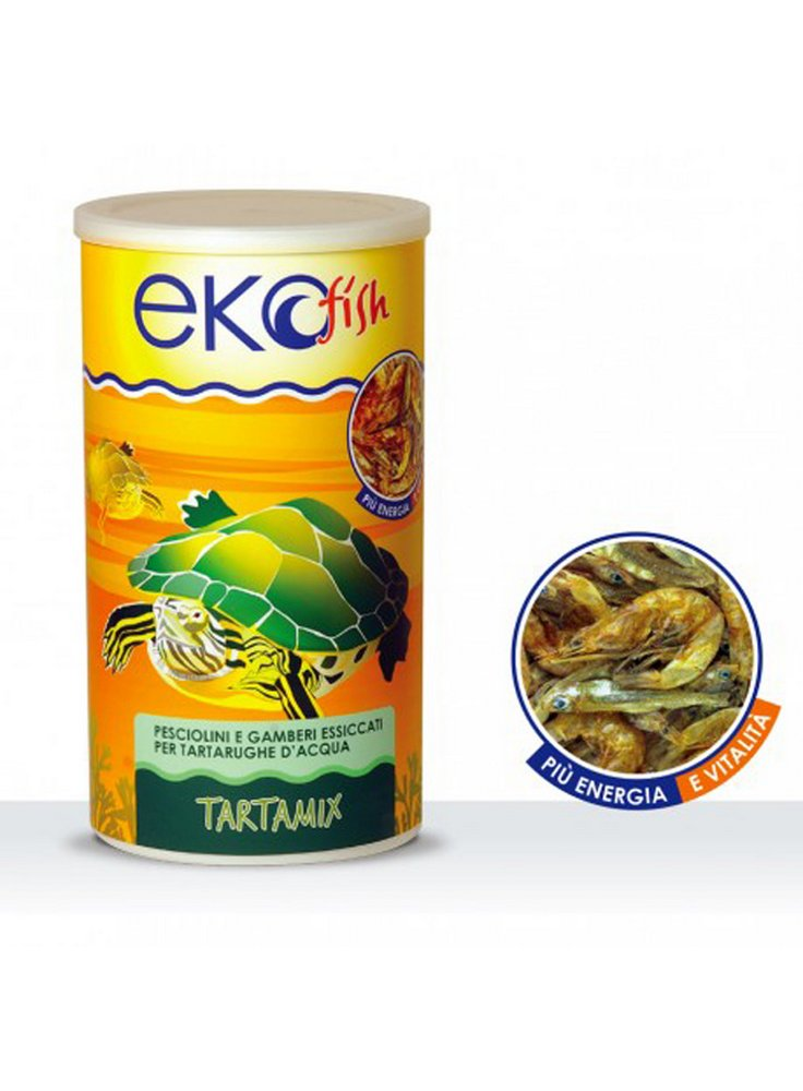 Ekofish mangime per tartarughe acquatiche Tartamix 1000 ml