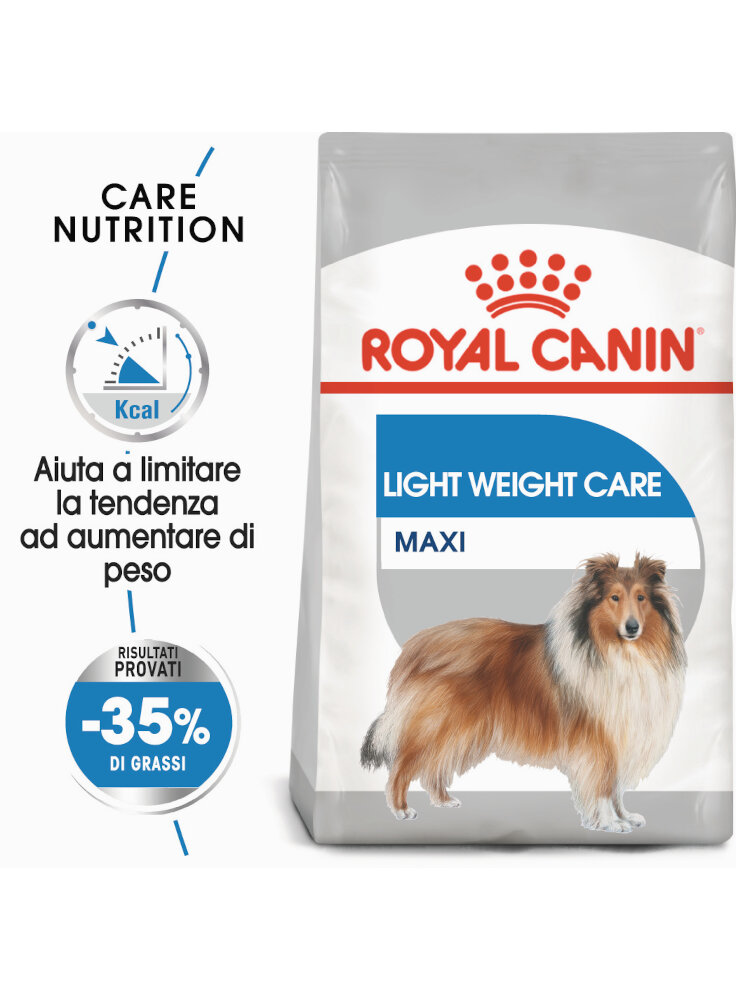 Maxi light WCare cane Royal Canin