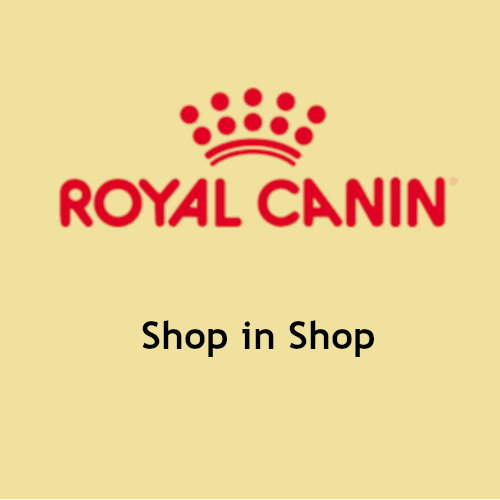 Shop in shop Royal Canin