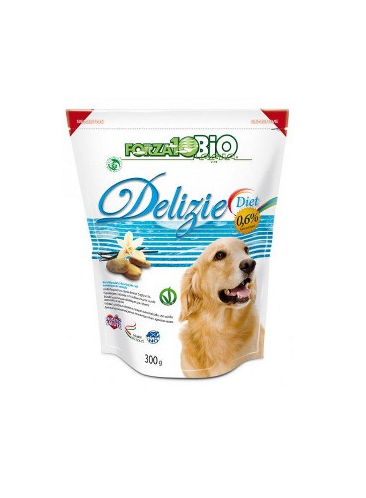 Forza 10 biscotti per cane Snack Delizie bio diet 300 Gr