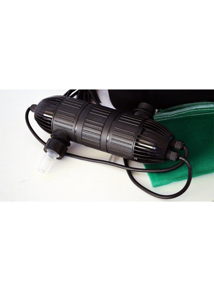 Heissner filtro esterno per laghetto con lampada uv 4950 for Pompa filtro laghetto