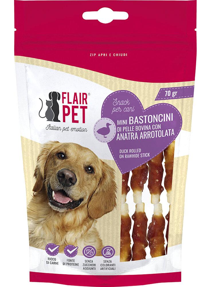 Flair pet bastoncini di pelle bovina per cani di taglia piccola