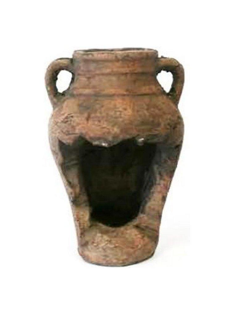 Anfora terracotta cm 21 h x 16 C80277L