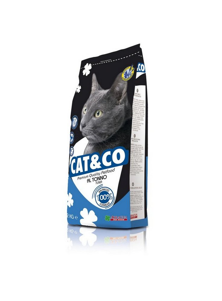 Cat & co Adult gatto kg 2 tonno