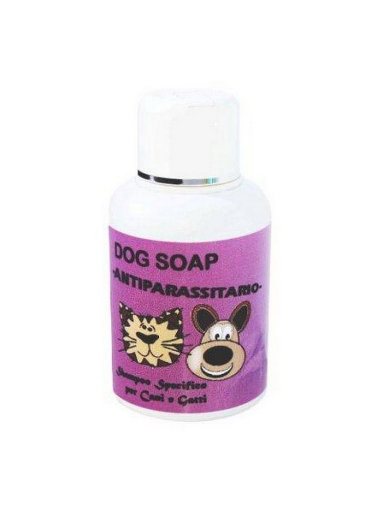 Shampoo antiparassitario per cani e gatti 250ml dog soap