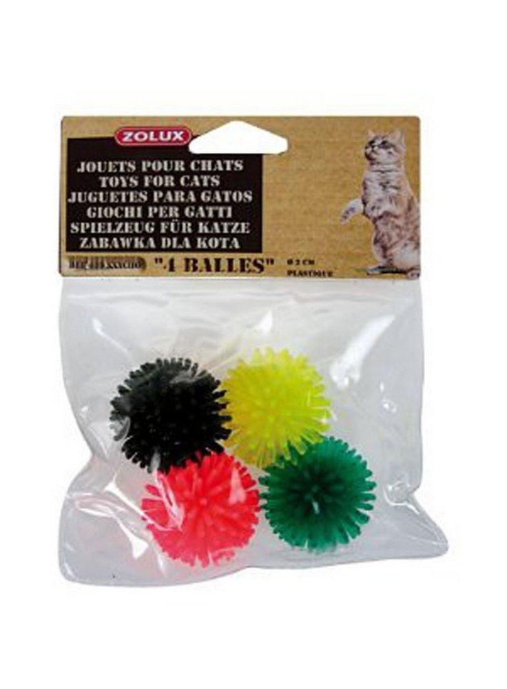 Set 4 palline per gatti zolux