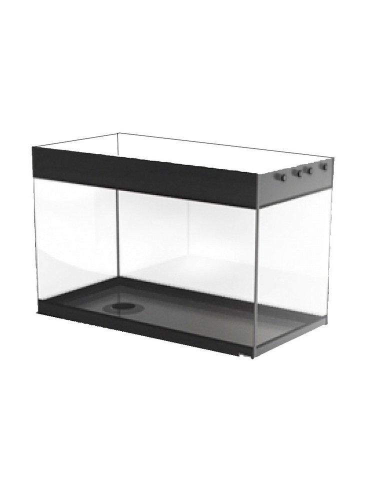 Vasca vitrea 80x50x51h acquario 200 litri