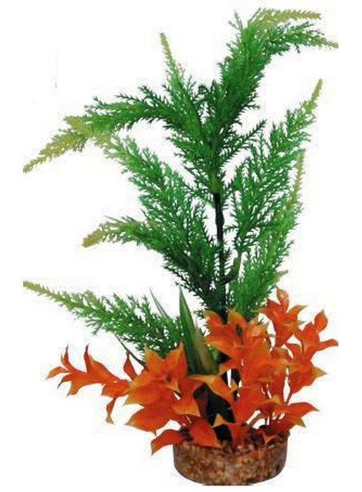Pianta decorativa per acquario con base phytos 16 cm 30