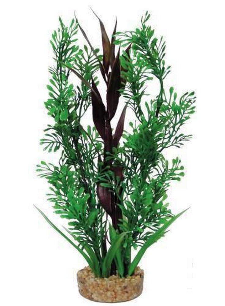 Pianta decorativa per acquario con base phytos 19 cm 25