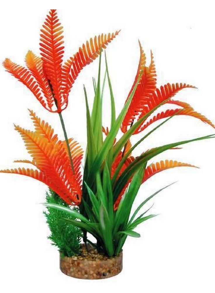 Pianta decorativa per acquario con base phytos 21 cm 23