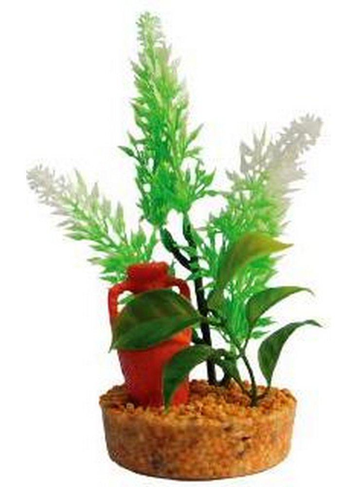 Pianta decorativa per acquario con base phytos 3 cm 13