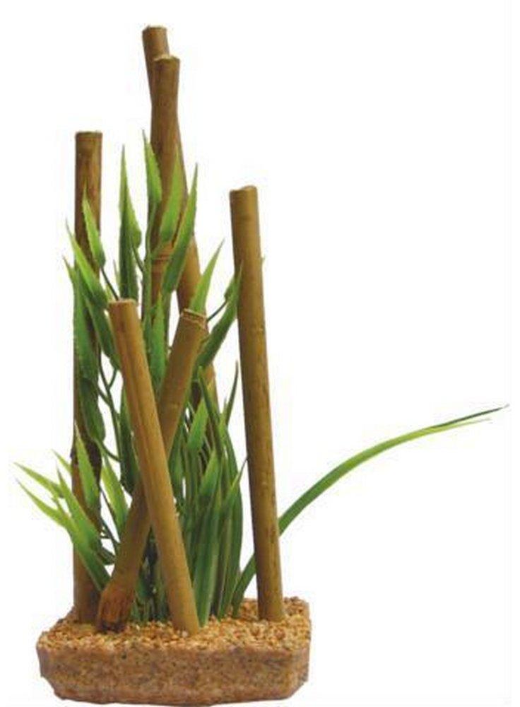 Pianta decorativa con base phytos bamboo